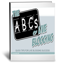 The ABCs of Live Blogging e-book