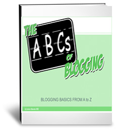 ABCs of Blogging eBook Cover
