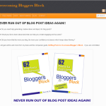 Get Tips on Overcoming Bloggers Block on New Site