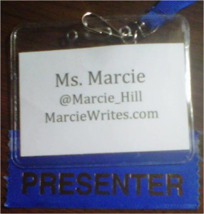 Show Me the Blog - Marcie's Hill Badge