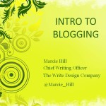 Webinar Replay: Intro to Blogging