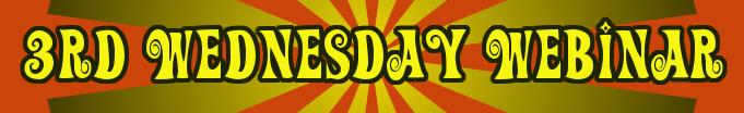 3rd Wednesday Webinar - Marcie Hill