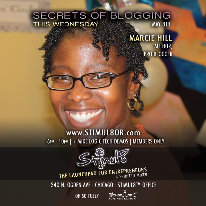 Secrets of Blogging - Marcie Hill and Oh So Fuzzy
