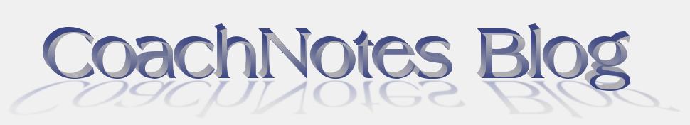 Coach Notes Blog