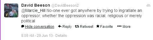 David Beeson on Twitter