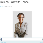 Listen to My Author Interview with Toneal Jackson