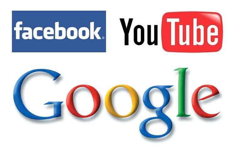 Facebook Youtube Google