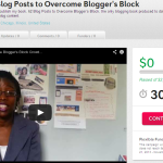 My 62 Blog Posts to Overcome Blogger's Block Crowdfunding Campaign Launched on Yesterday!