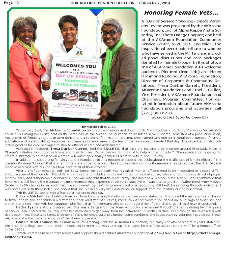 AKARAMA Foundation, Inc. - Independent Bulletin Newspaper