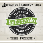 My January Madness: NaBloPoMo