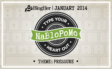 NaBloPoMo - BlogHer