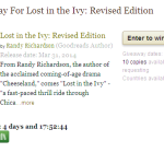 "Enter to Win ""Lost In the Ivy"" by Randy Richardson – Ends April 14th"