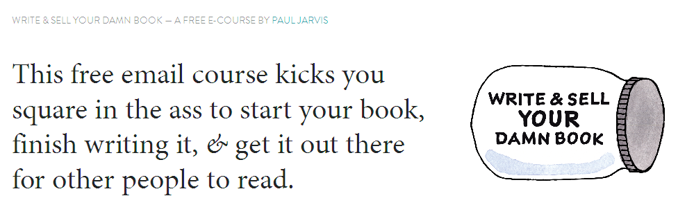 Write & Sell Your Damn Book - Paul Jarvis