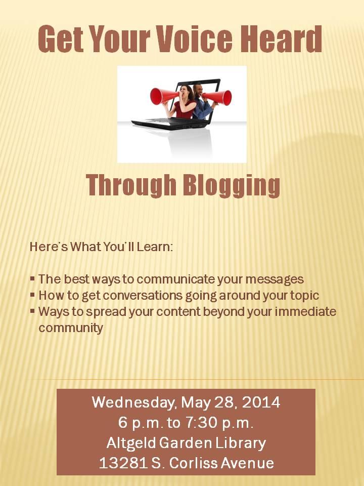 Get Your Voice Heard Through Blogging