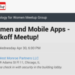 My First Women for Technology Meetup