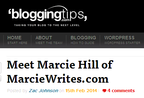 Marcie Hill's Interview with Zac Johnson of BloggingTips.com