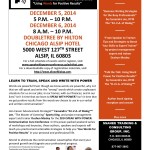 Learn How to Speak & Write With Power on December 5 – 6