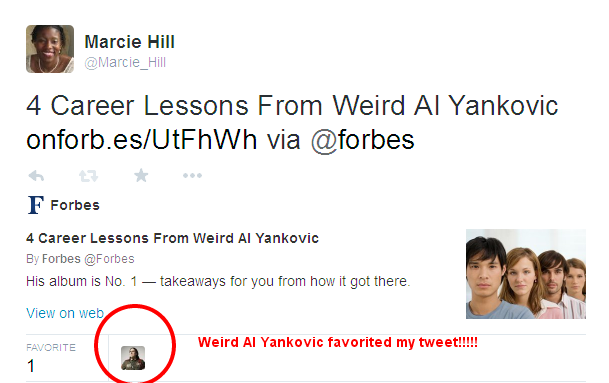 Weird Al Yankovic on Twitter