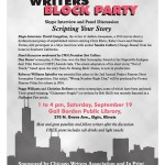 4th Annual Writers Block Party: Scripting Your Story
