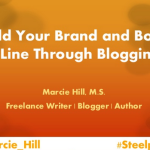 My Presentation from the Steel Pen Creative Writers' Conference is on Slideshare