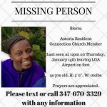 Please Spread the Word: Help Find Sierra Shields