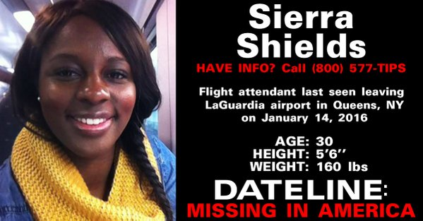 Find Sierra Shields #‎FindSierraNYC‬