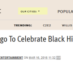 Read My Article in the Chicagoist