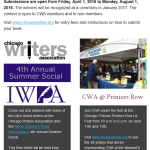 Check Out CWA's March 2016 Newsletter