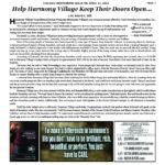 New Article: Help Harmony Village Keep Their Doors Open