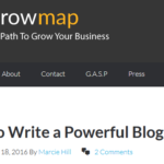Read How to Write a Poweful Blogger Bio