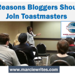 5 Reasons Bloggers Should Join Toastmasters