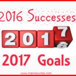 2016 Successes and 2017 Goals
