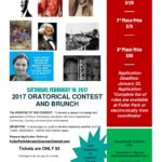 2017 Oratorical Contest & Brunch – February 18, 2017