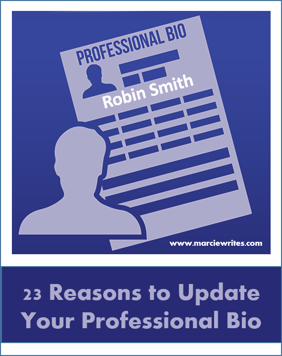 23 Reasons to Update Your Professional Bio