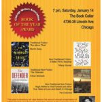 Chicago Writers Association Events – January 2017