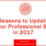 23 Reasons to Update Your Professional Bio in 2017