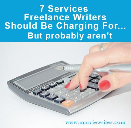 7 Services Writers Should Be Charging For