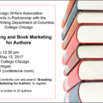 Register for Branding & Book Marketing for Authors – May 13th