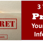3 Ways to Protect Your Personal Information on Your Blog