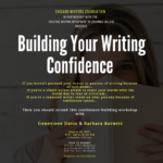 Building Your Writing Confidence – August 12, 2017