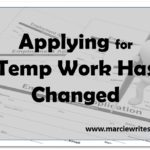 Even Applying for Temp Work Has Changed