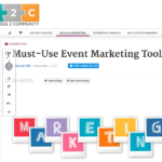 5 Must-Use Event Marketing Tools